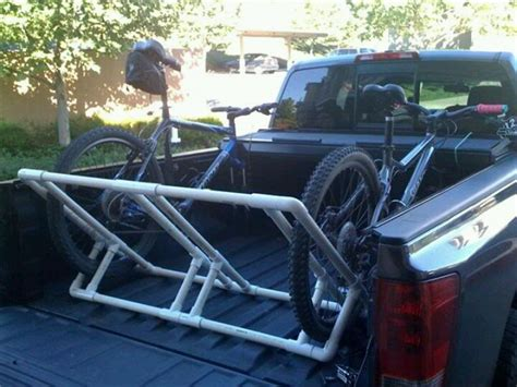 Diy Pop Up Cer Bike Rack by Pvc Bike Rack Diy Moto