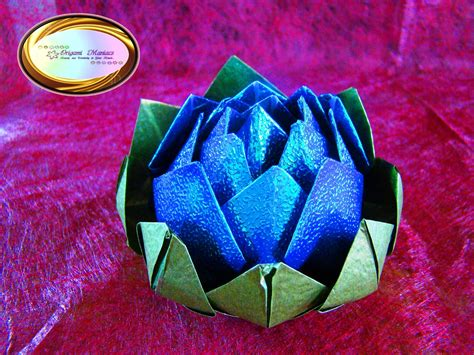Origami Beautiful Flowers - origami maniacs beautiful origami lotus flower