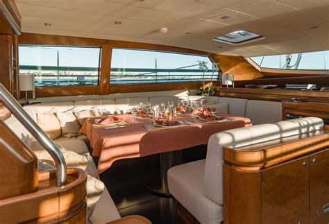 vintage boat interiors charter grand bleu vintage in the mediterranean luxury