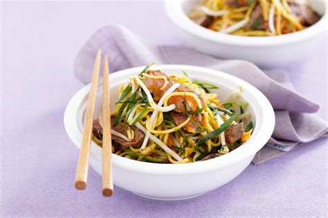 Todays Special Asian Beef Noodle Salad by Asian Beef Noodle Salad Recipe Taste Au
