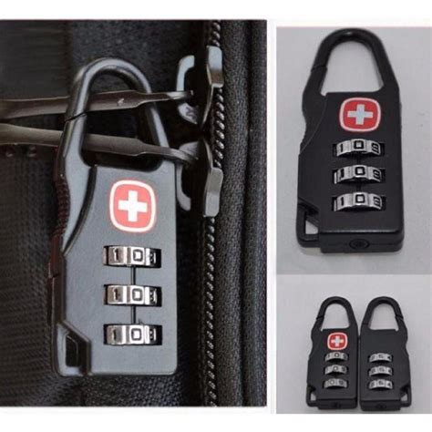 Tas Pinggang Swiss Army Gear jual gembok kunci koper padlock travel bag swiss gear army