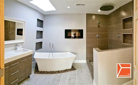 modern master bathroom modern master bathroom with specialty door by