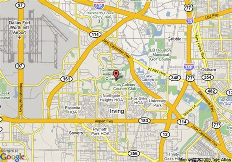 las colinas texas map map of inn express dfw airport las colinas irving