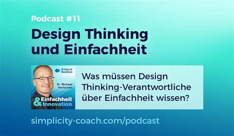 design thinking podcast seminar archive simplicity coach