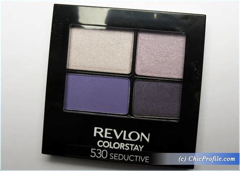 Eyeshadow Revlon Review revlon seductive colorstay 16 hour eye shadow review swatches photos trends and