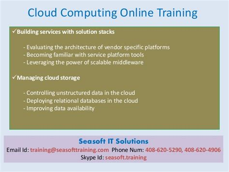 Online Tutorial Cloud Computing | cloud computing online training