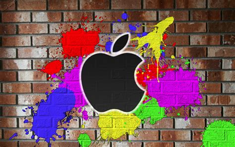 Wallpaper Graffiti Apple   apple graffiti wallpaper by robgimp on deviantart