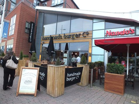 Handmade Burger Company Lincoln - panoramio photo of handmade burger co uk and nandos lincoln