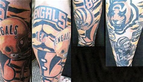 bengals tattoo cincinnati bengals tattoos