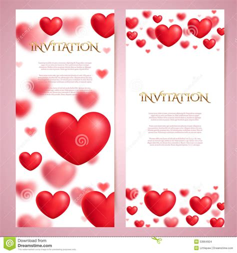 romantic vector card templates voucher certificate