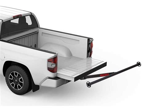 bed load yakima longarm truck bed load extender 2 quot hitches 300 lbs aluminum yakima hitch cargo
