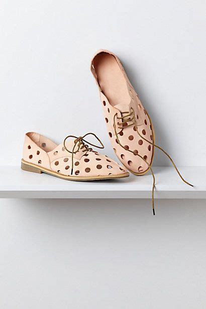polka dot oxford shoes acker oxfords anthropologie fashion polka dots dot