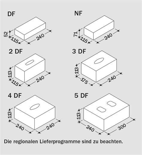 Beton Mauersteine Formate by Ks Und Ks R F 252 R Normalmauerm 246 Rtel Bundesverband