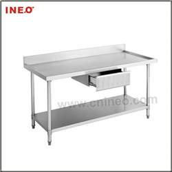 Kitchen Work Table With Drawers Kitchen Stainless Steel Work Table With Drawer Stainless Steel Table Stainless Steel Work Table
