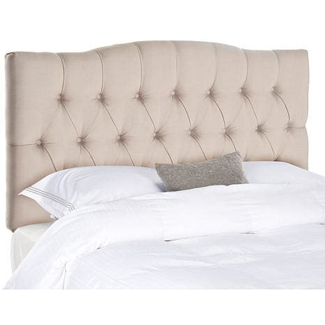 linen headboard queen axel linen tufted headboard queen 8230212 hsn