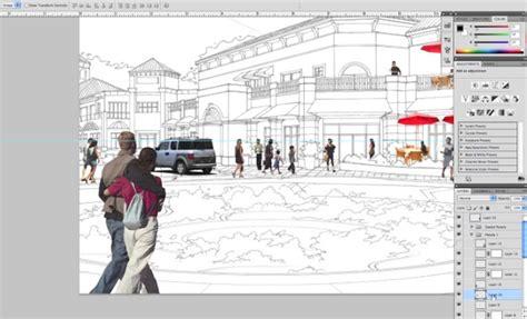 tutorial photoshop render photoshop video tutorial render an architectural scene