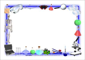 science page borders clipart #1999113
