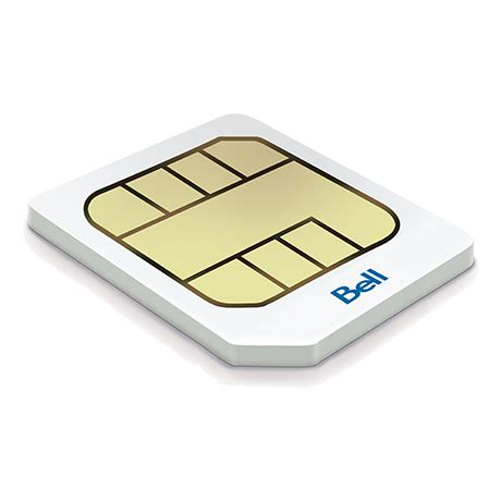 4g Sim Card Template by 4g Lte Micro Sim Card From Bell Mobility