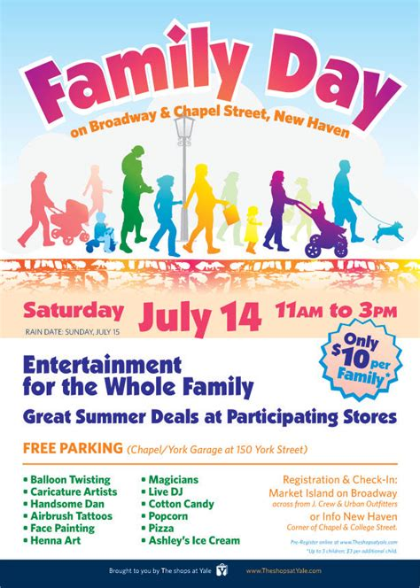 day poster template family day poster template templates collections