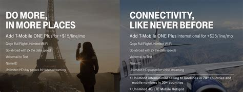 gogo inflight t mobile t mobile revises one plan offers lower priced option