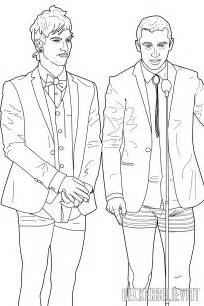 Here The Twenty One Pilots Fall Out Boy All Time Low Fall Out Boy Coloring Pages