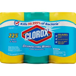 clorox bleach  disinfecting wipes  pack clo shopletcom