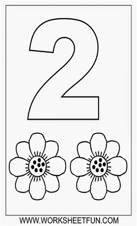 coloring page number 2 printable color by number sheets free coloring sheet