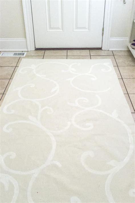 diy drop cloth rug drop cloth diy rug favecrafts