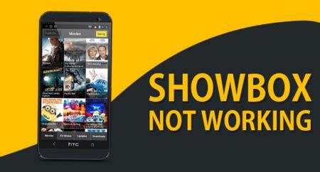 showbox for android not working showbox not working showbox app update server error guidance