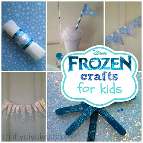 Disney Frozen Crafts For On A Budget