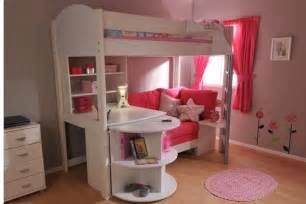 Childrens Bunk Bed With Desk Loft Beds With Desks Bunk Beds With Stairs