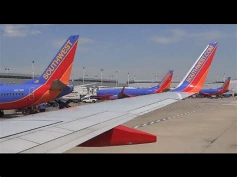(hd) southwest airlines boeing 737 700 takeoff    chicago