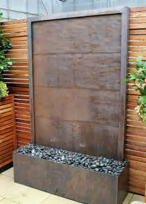 copper water wall