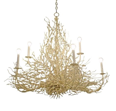 Twig Chandeliers Oversize Coral Twig Chandelier At 1stdibs