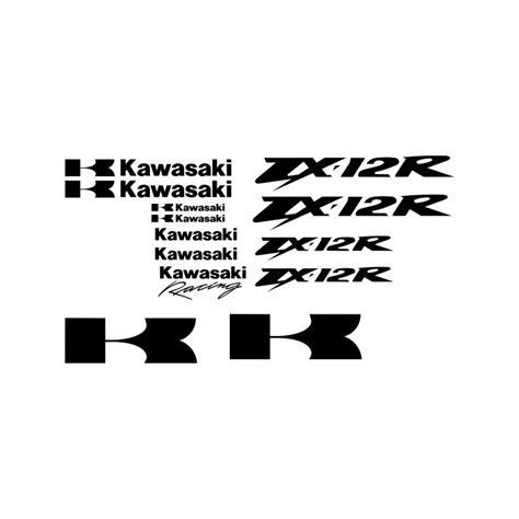 Sticker Kawasaki Racing by Kawasaki Zx12r Racing Stickers Planche Autocollants