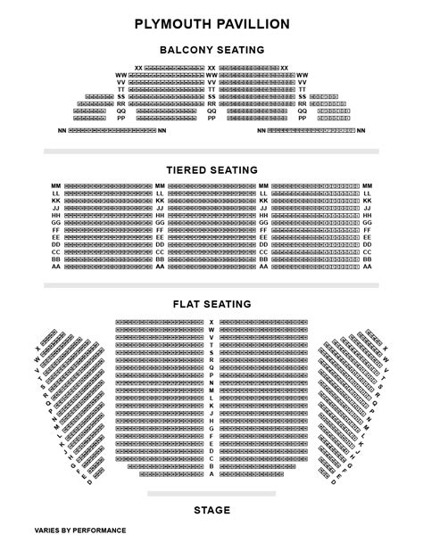 seating plan plymouth pavilions s theatre