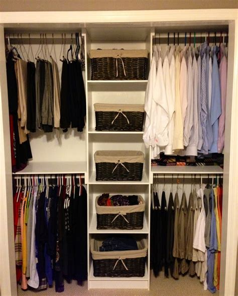 bedroom ideas  small rooms  couples closet
