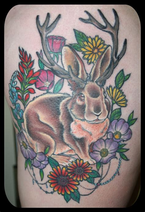 jackalope tattoo jackalope tattoos happenings idaho and