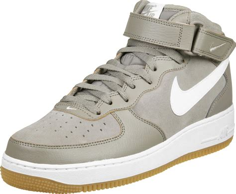 Nike Air One Shoes For nike air 1 mid 07 shoes grey white
