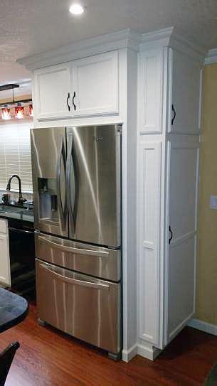 refrigerator built in cabinet whirlpool 24 5 cu ft door refrigerator in