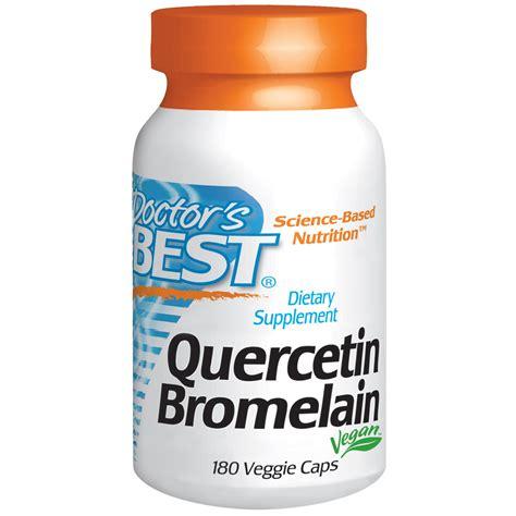 Suplemen Bromelain doctor s best quercetin bromelain 180 veggie caps