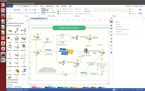 workflow program linux workflow software create workflow diagrams freely