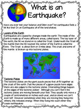earthquake worksheets earthquake bundle lesson plans activities worksheets by
