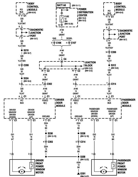 2002 jeep grand cherokee window wiring diagram collections