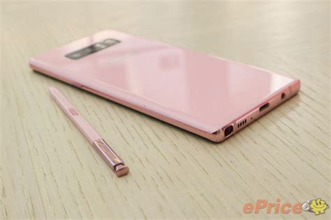 Samsung Note 8 Pink Samsung Introduces Pink Variant Of Galaxy Note8 91mobiles