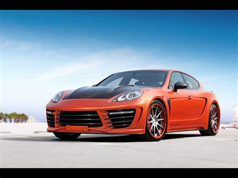 porsche gtr 4 2012 topcar porsche panamera stingray gtr orange