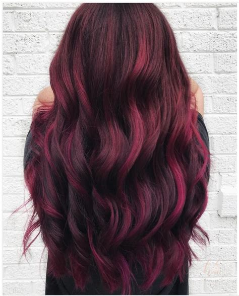 wine hair color best 25 wine hair ideas on wine colored hair