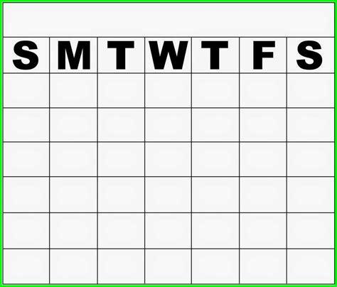 Calendars That Work Monday Through Friday Blank Calendar Monday Through Friday Calendar Template