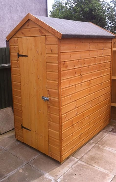 6 By 4 Shed How To Build A 6x4 Small Garden Shed Gardensite Co Uk