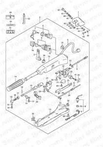 Suzuki 50 Parts Fig 51 Tiller Handle Type Qh Suzuki Df 50 Parts